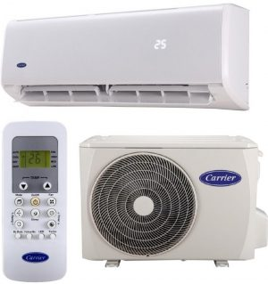 Carrier 1.5HP Hi-Wall Split Air Conditioner – R410